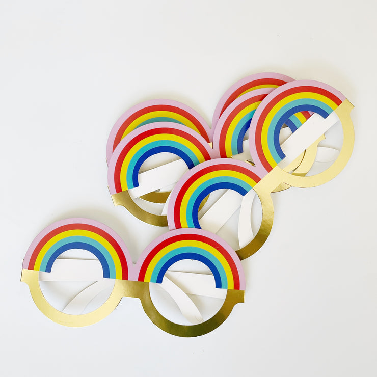 Kids Party Favor - Rainbow Party Glasses
