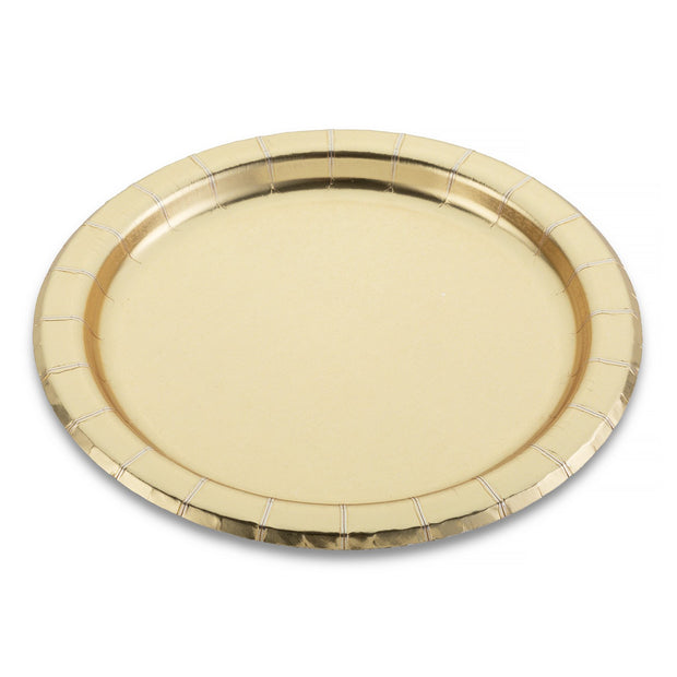 Gold Cake Plate
