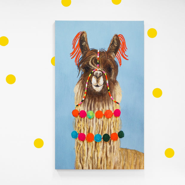 Wall Art - Llama Canvas