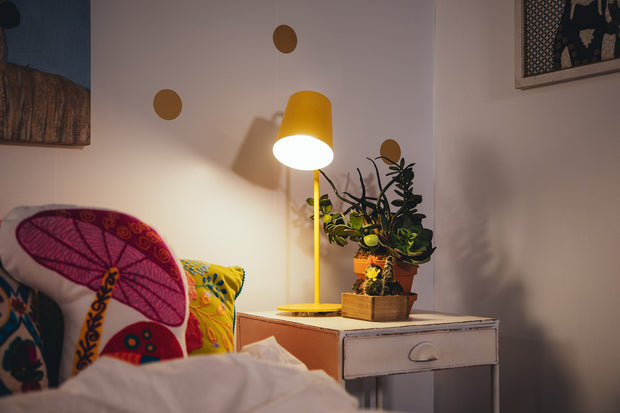Table Lamp - Yellow