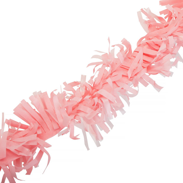 Party Garland - Pink Fringe