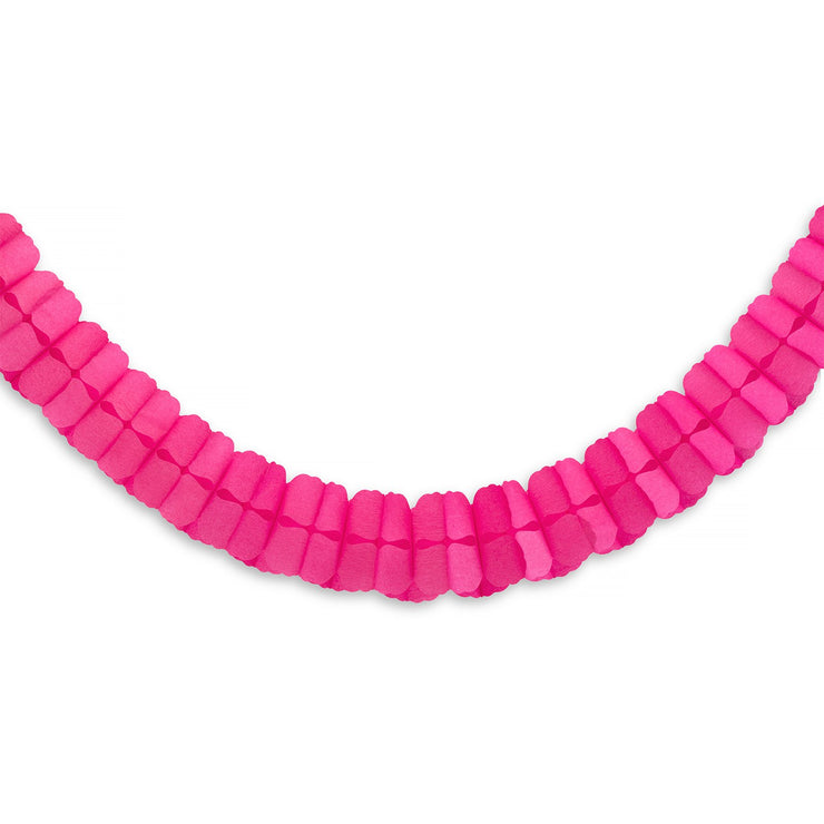 Party Garland - Pink Honeycomb
