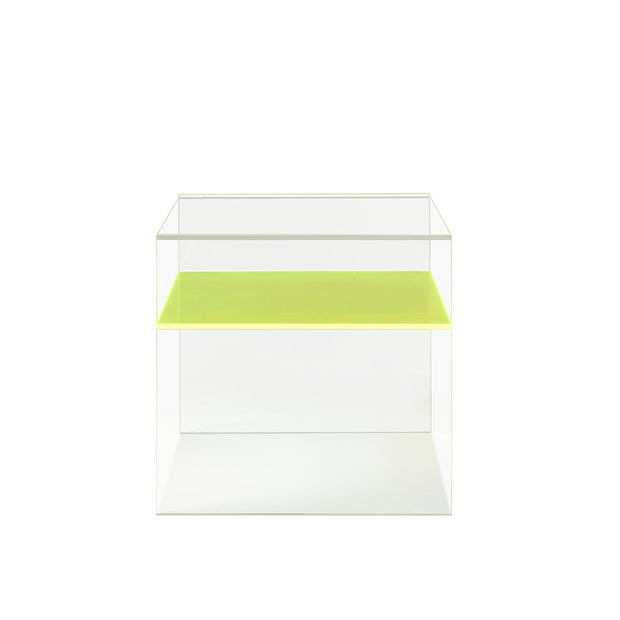Neon Acrylic Side Table