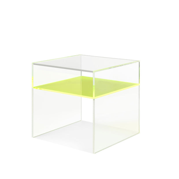 Neon Acrylic Small Side Table