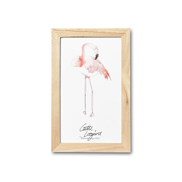 Wall Art - Flamingo Print Framed