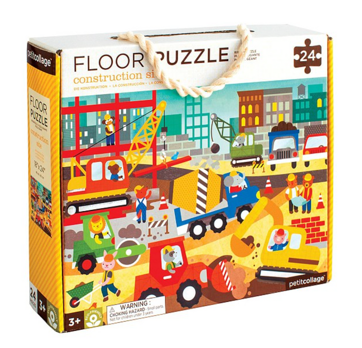 Kids Gift - Floor Puzzle - Construction Site