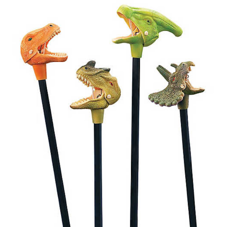 Party Favor - Dino Grabber Toy - 6 pack
