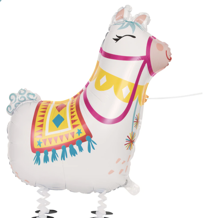 Party Balloon - Walking Llama