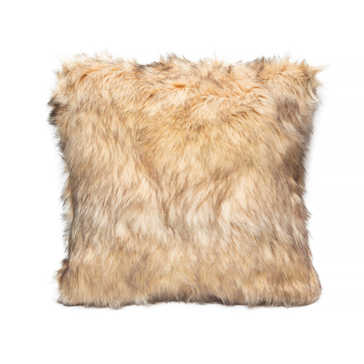 Decorative Throw Pillow - Exotic Faux Fur