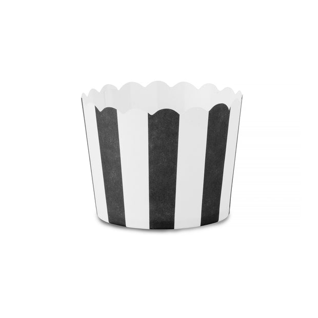 Party Cup - Snack Baking Cup - Black and White