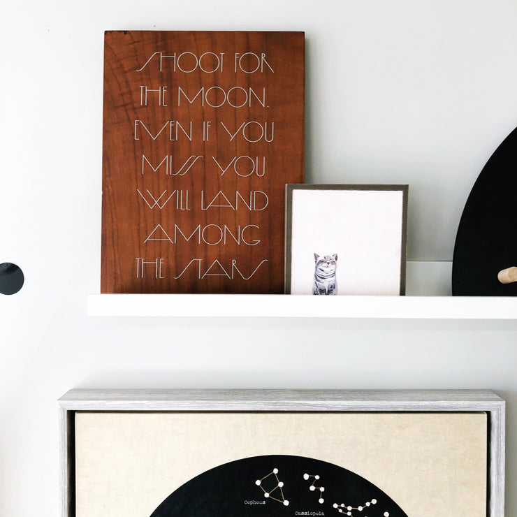 Wall Art - Shoot for the Moon