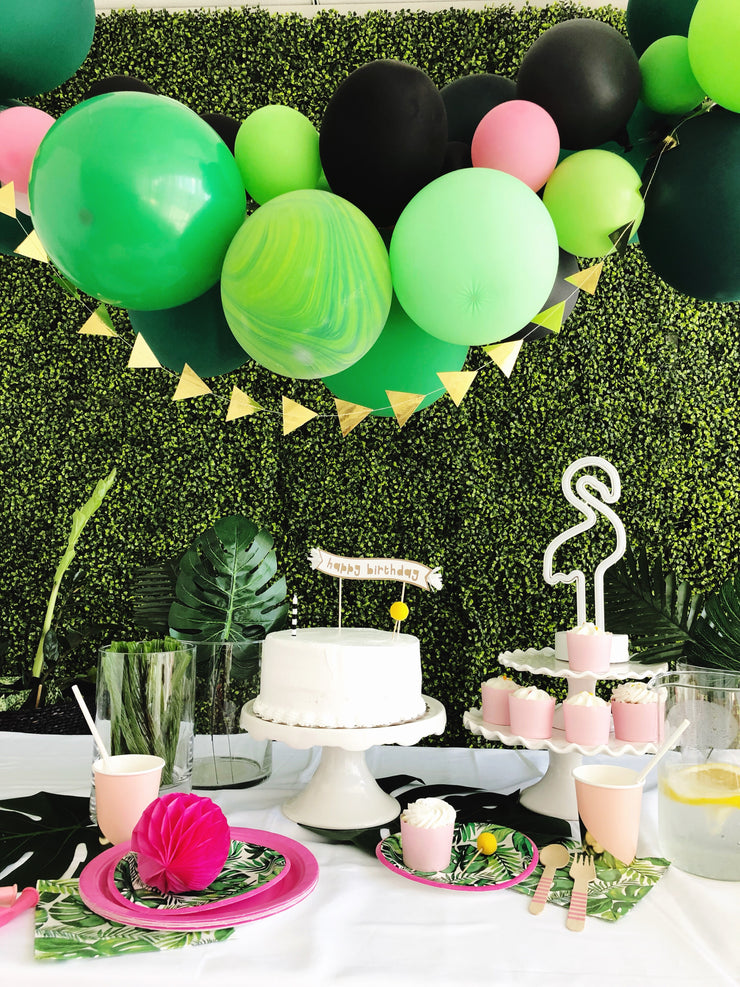 Party Balloon Garland - Welcome to the Tropics - DIY Kit