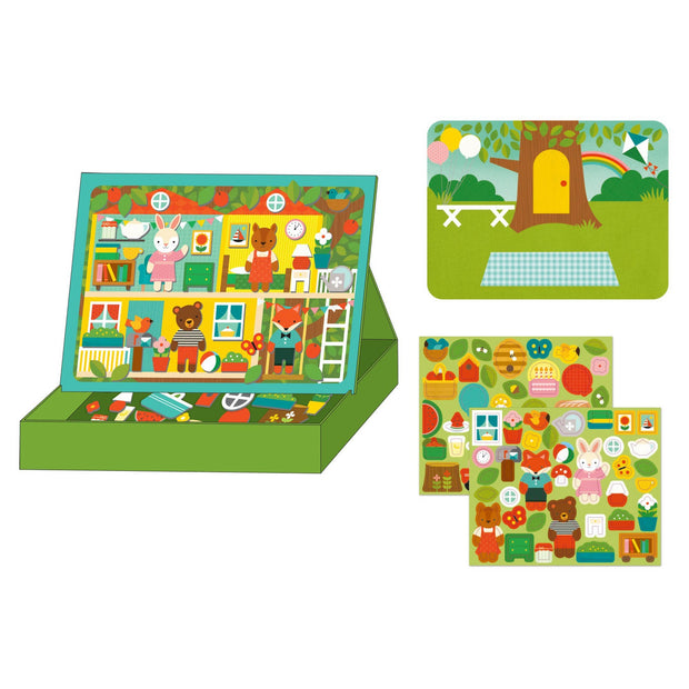 Kids Gift - Tree House Magnetic Play Scene