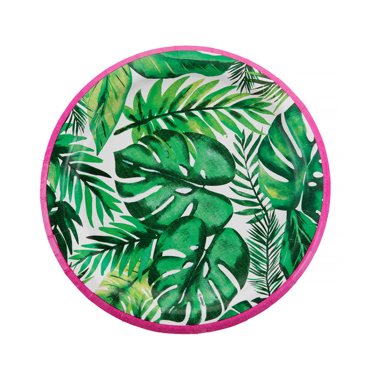 Party Plate - Tropical - 7''
