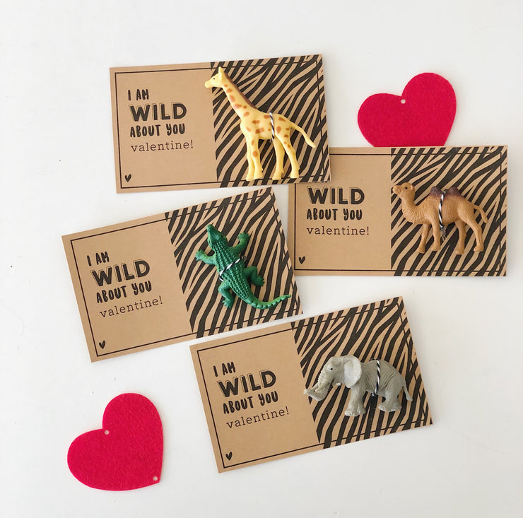 Activity Kit - Wild Safari Valentine Card Kit