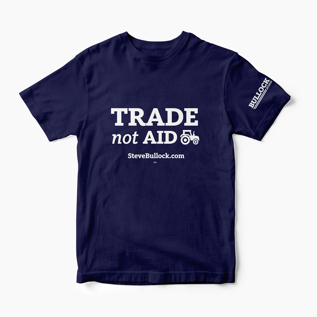 Trade Not Aid T-shirt