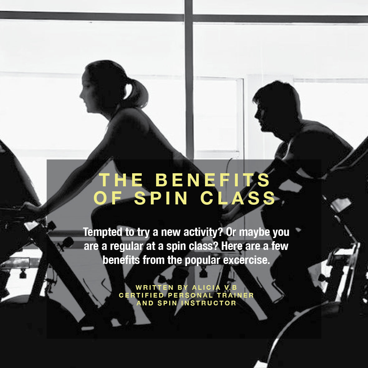 The benefits of spinning
