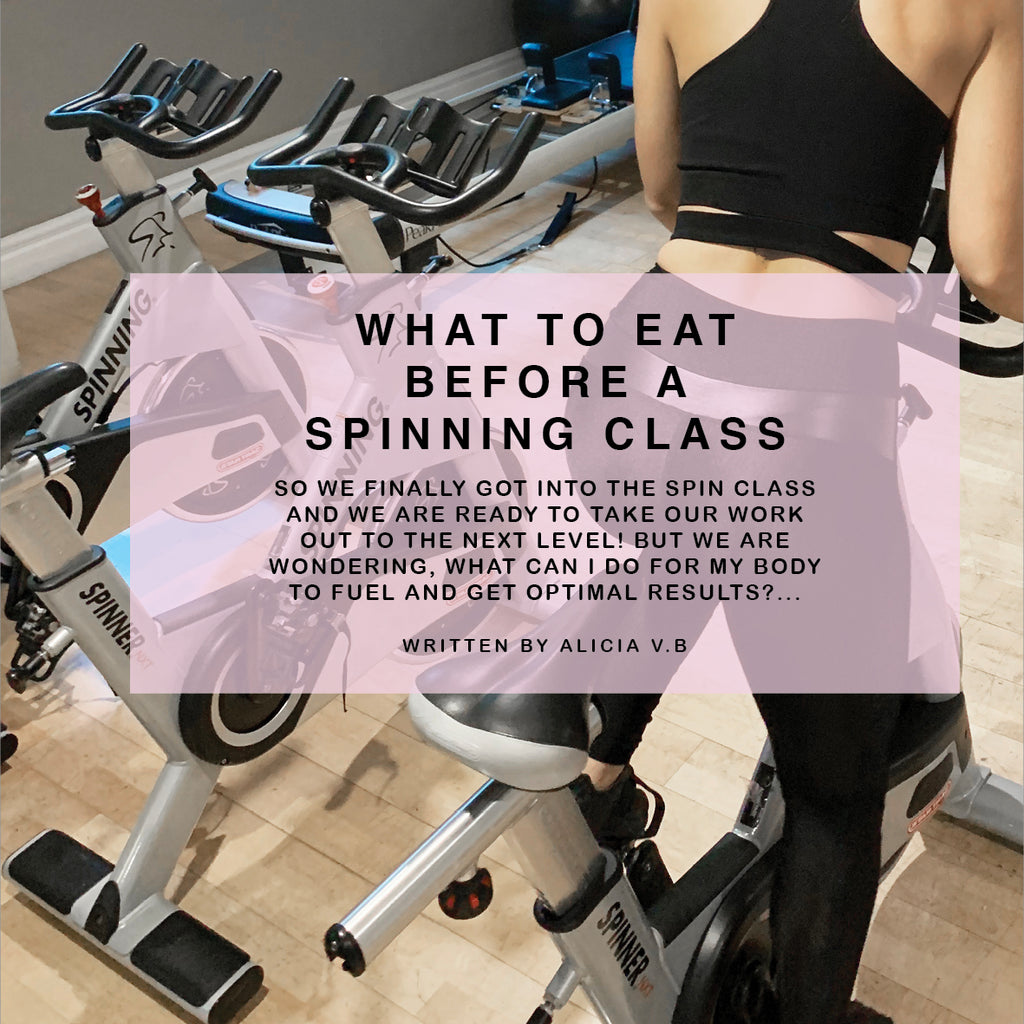 What to eat before a Spinning class