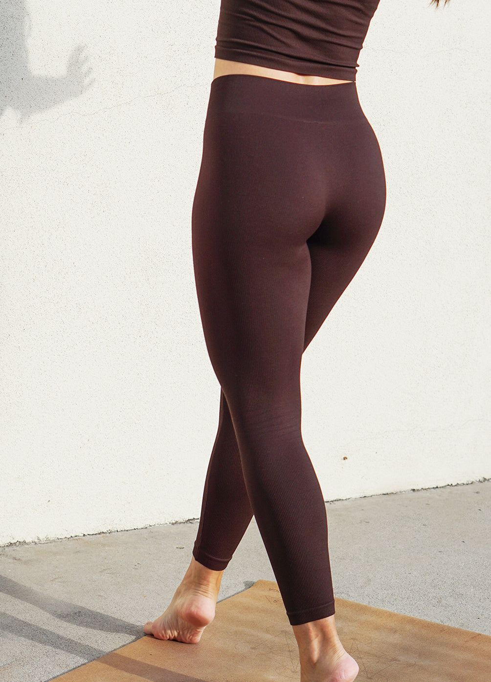 Athena Leggings in Chocolate