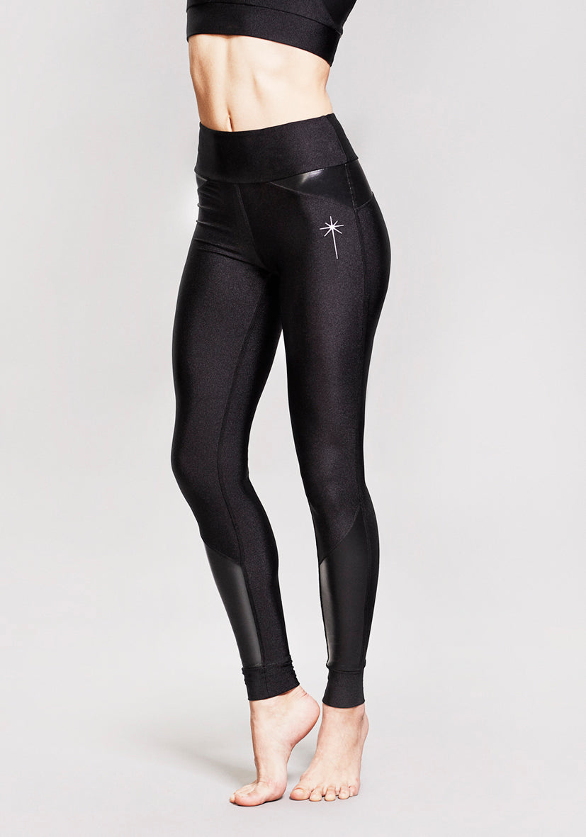 Black Sirius Leggings from LEON NORD allow you to reach new athleisure wardrobe heights as the ''perfect little black legging''.