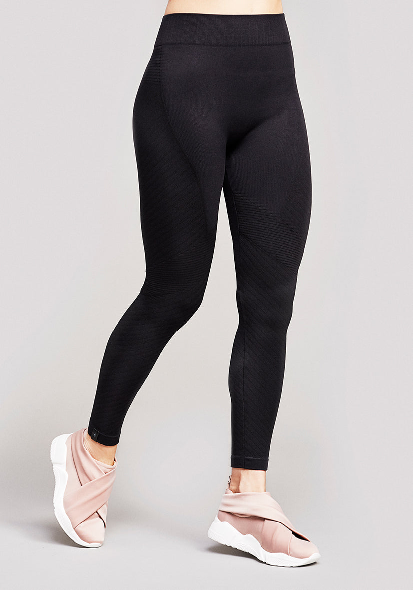 Antares Moto Seamless leggings - Galactic Black