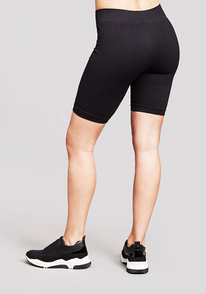 Rigel Seamless Ribbed Bike Shorts