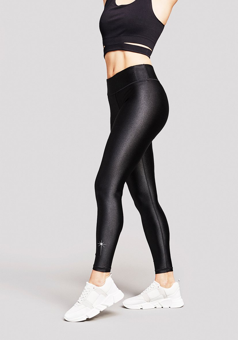 Andromeda Leggings - Galactic Black