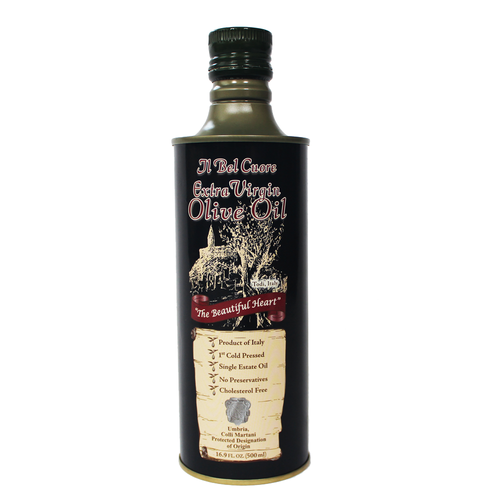 Extra Virgin Olive Oil - 500ml Can ( Six Cans )