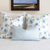 Fifty States Blue Hydrangea Square Pillow