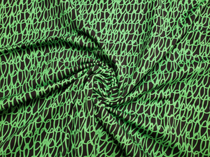 Permanent Preorder - Coords - Scribble Lines with Black - Green - RP Color