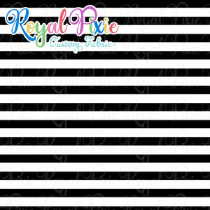 Permanent Preorder - Stripes with White - Black - RP Color
