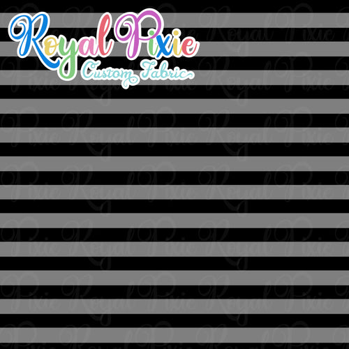 Permanent Preorder - Stripes Monochrome - Black - RP Color