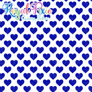 Permanent Preorder - Hearts with White - Blue - RP Color