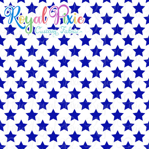 Permanent Preorder - Stars with White - Blue - RP Color