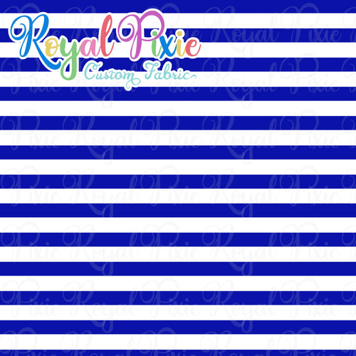 Permanent Preorder - Stripes with White - Blue - RP Color