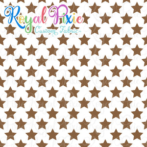 Permanent Preorder - Stars with White - Brown - RP Color