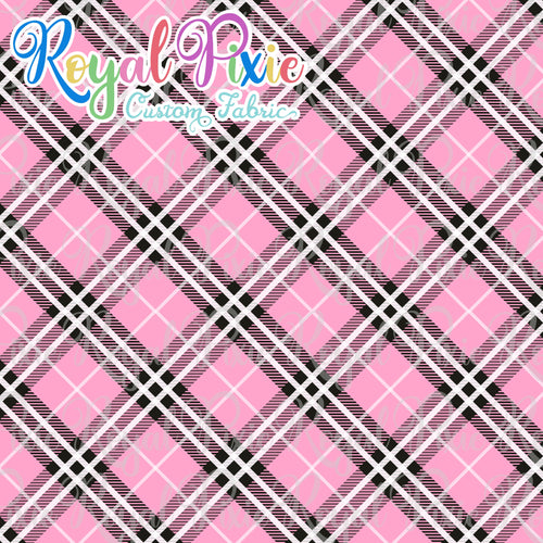 Permanent Preorder - Coords - Plaid - Bubble Gum