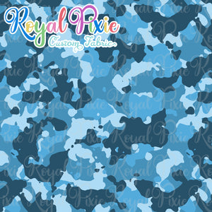 Permanent Preorder - Coords - Camouflage - Light Blue
