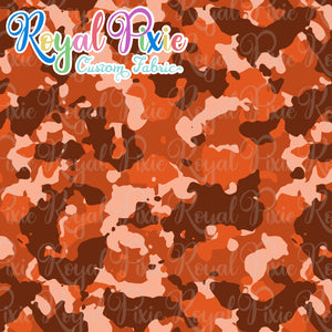 Permanent Preorder - Coords - Camouflage - Orange
