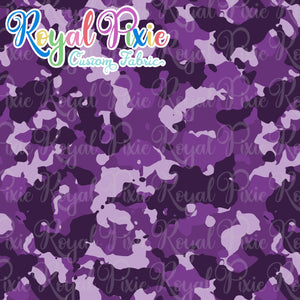Permanent Preorder - Coords - Camouflage - Purple