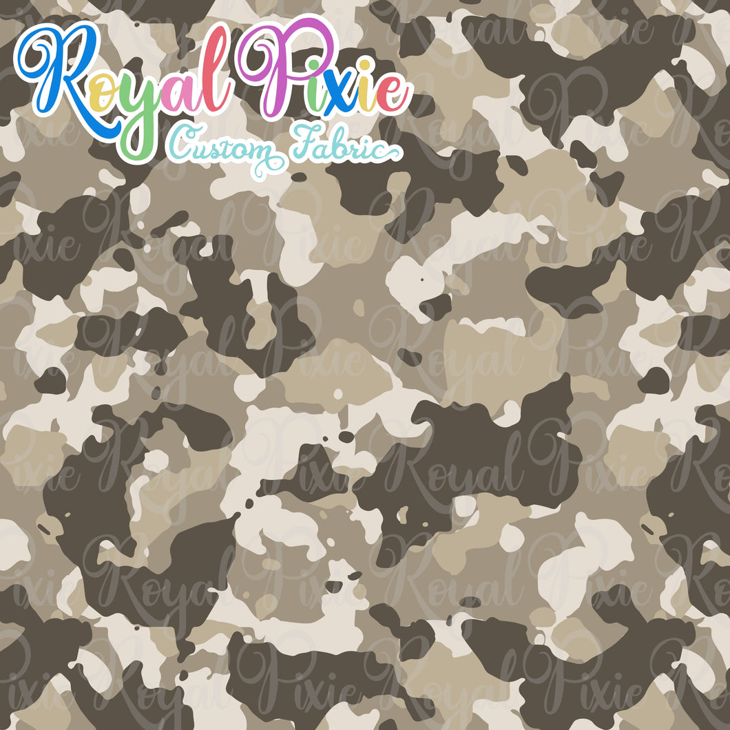 Permanent Preorder - Coords - Camouflage - Tan