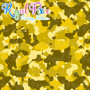 Permanent Preorder - Coords - Camouflage - Yellow