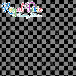 Permanent Preorder - Squares (Checkerboard) - Monochrome Black - RP Color