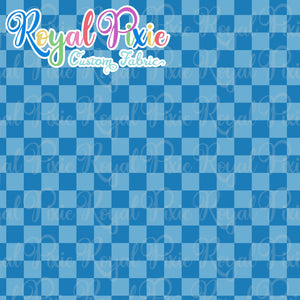Permanent Preorder - Squares (Checkerboard) - Monochrome Ocean - RP Color