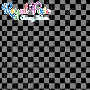 Permanent Preorder - Squares (Checkerboard) - Black/Grey - RP Color