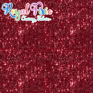Permanent Preorder - Pixie Glitters - Deep Red