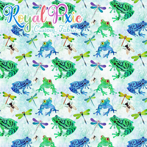 Permanent Preorder - Spring - Frogs and Dragonflies