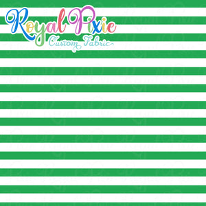 Permanent Preorder - Stripes with White - Green - RP Color