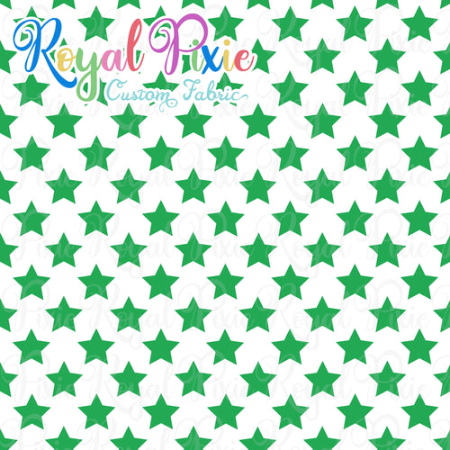 Permanent Preorder - Stars with White - Green - RP Color