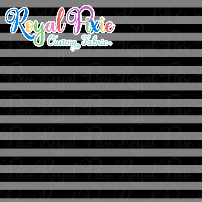Permanent Preorder - Stripes with Black - Grey - RP Color